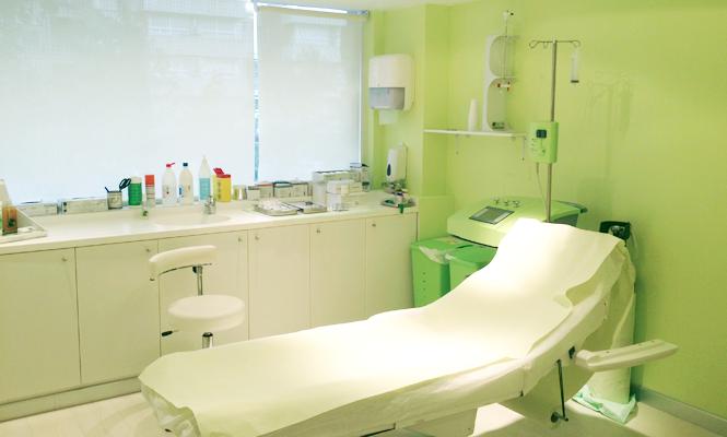 Consulta de tractament d'Ozonoteràpia
